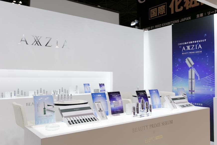 国際化粧品展2016ブースデザインの様子