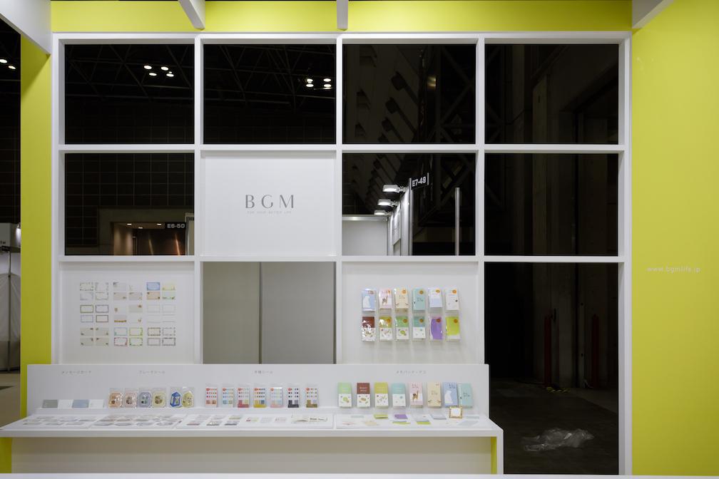 ISOT国際文具紙製品展2018ブースデザインの様子
